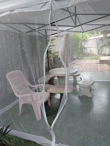 Net in the garden 2