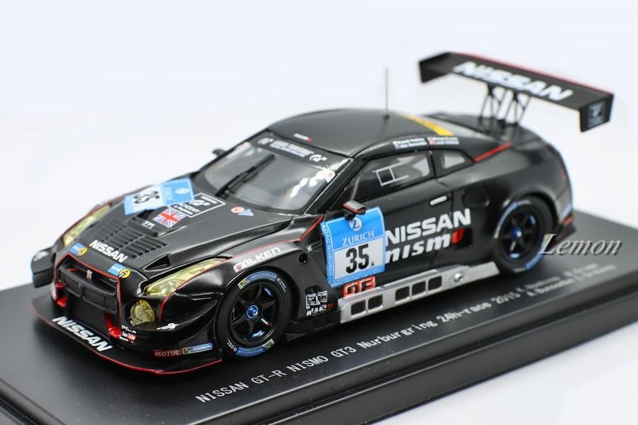【エブロ】 1/43 日産 GT-R NISMO GT3 #35 Nurburgring 24h race 2015