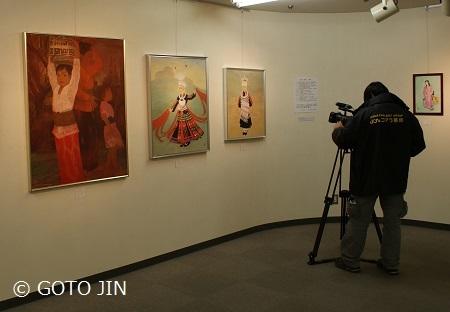 「藤の会絵画展」松戸市文化ホール