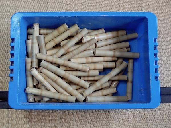 処分した笛の材料