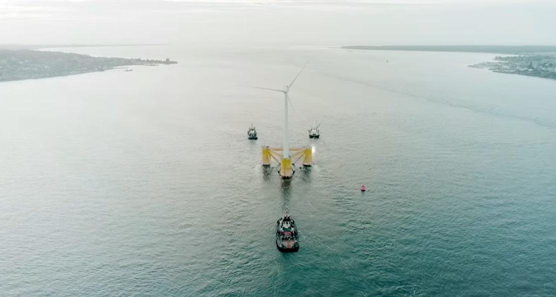 世界最大の浮体式洋上風車-16