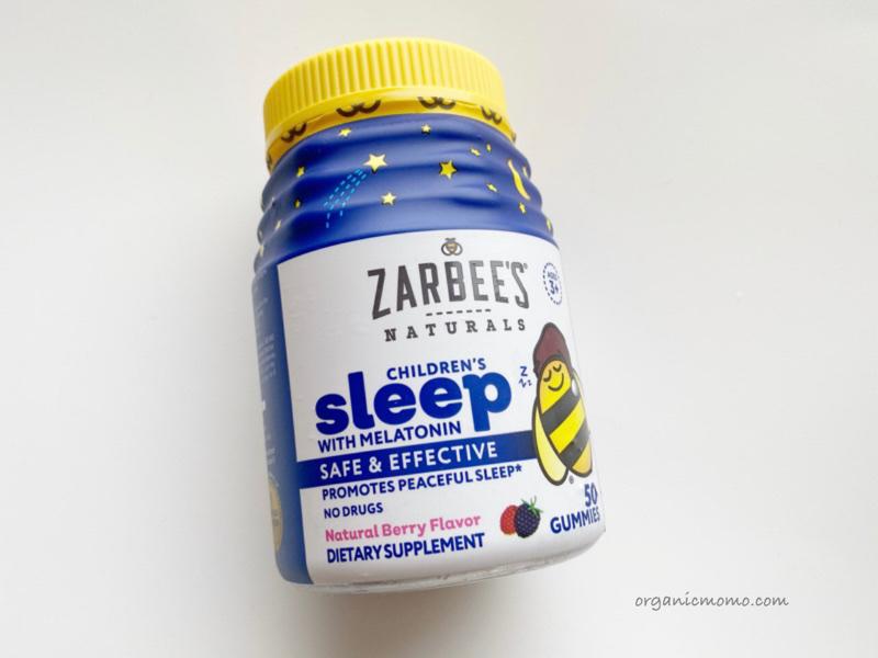Zarbee's, メラトニン配合子ども用睡眠サプリメントの画像