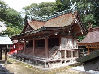 積川神社本殿