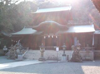 波太神社拝殿