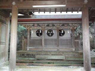 波太神社末社三社本殿