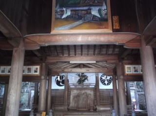 波太神社本殿