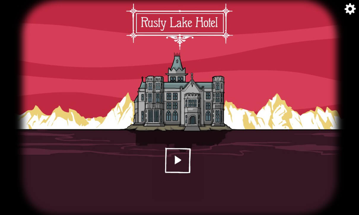 Rusty Lake Hotel ラスティレイクホテル タイトル画面 見出し画像