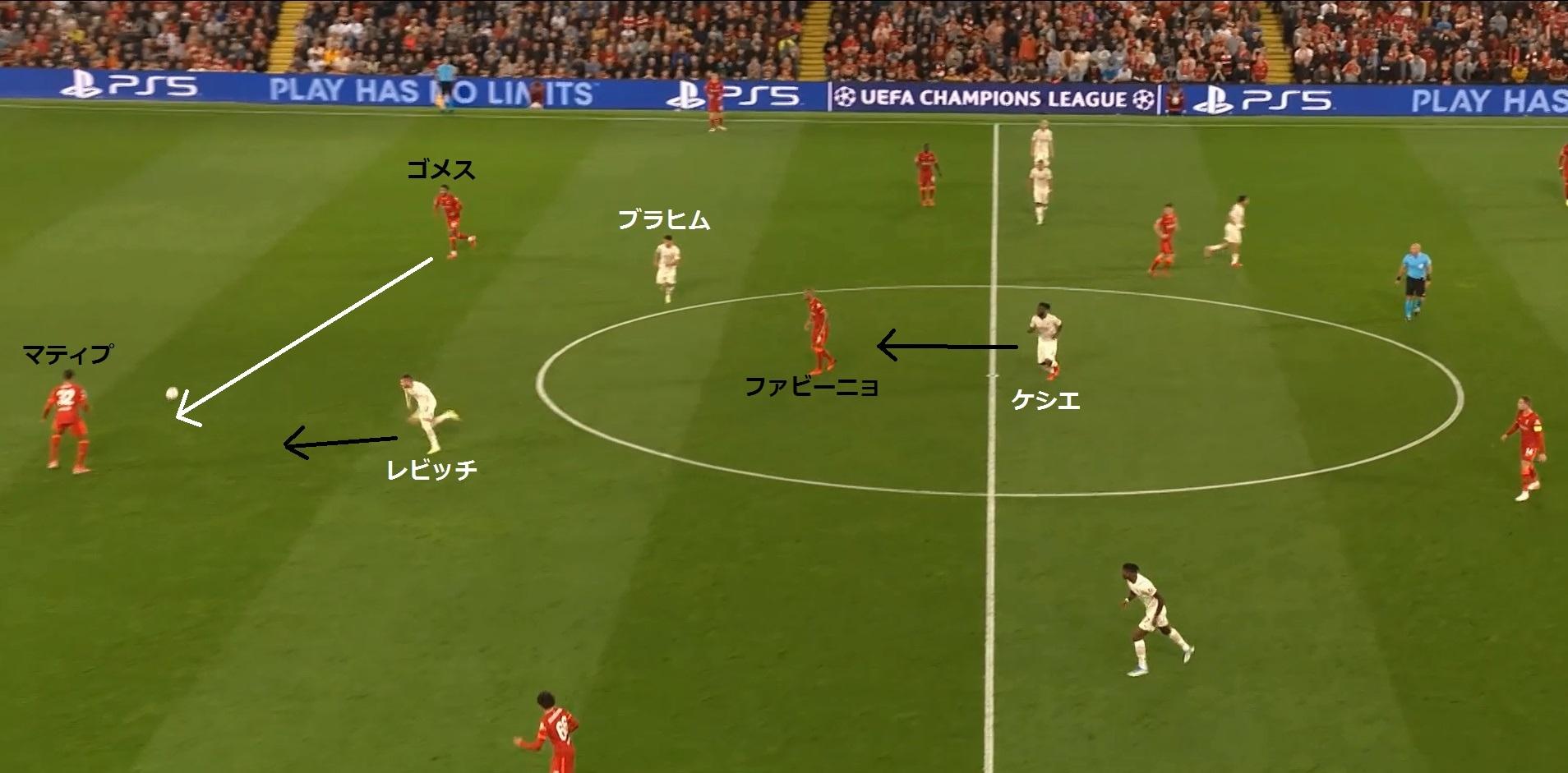 【21-22シーズン】リバプール対ミラン_戦術分析18