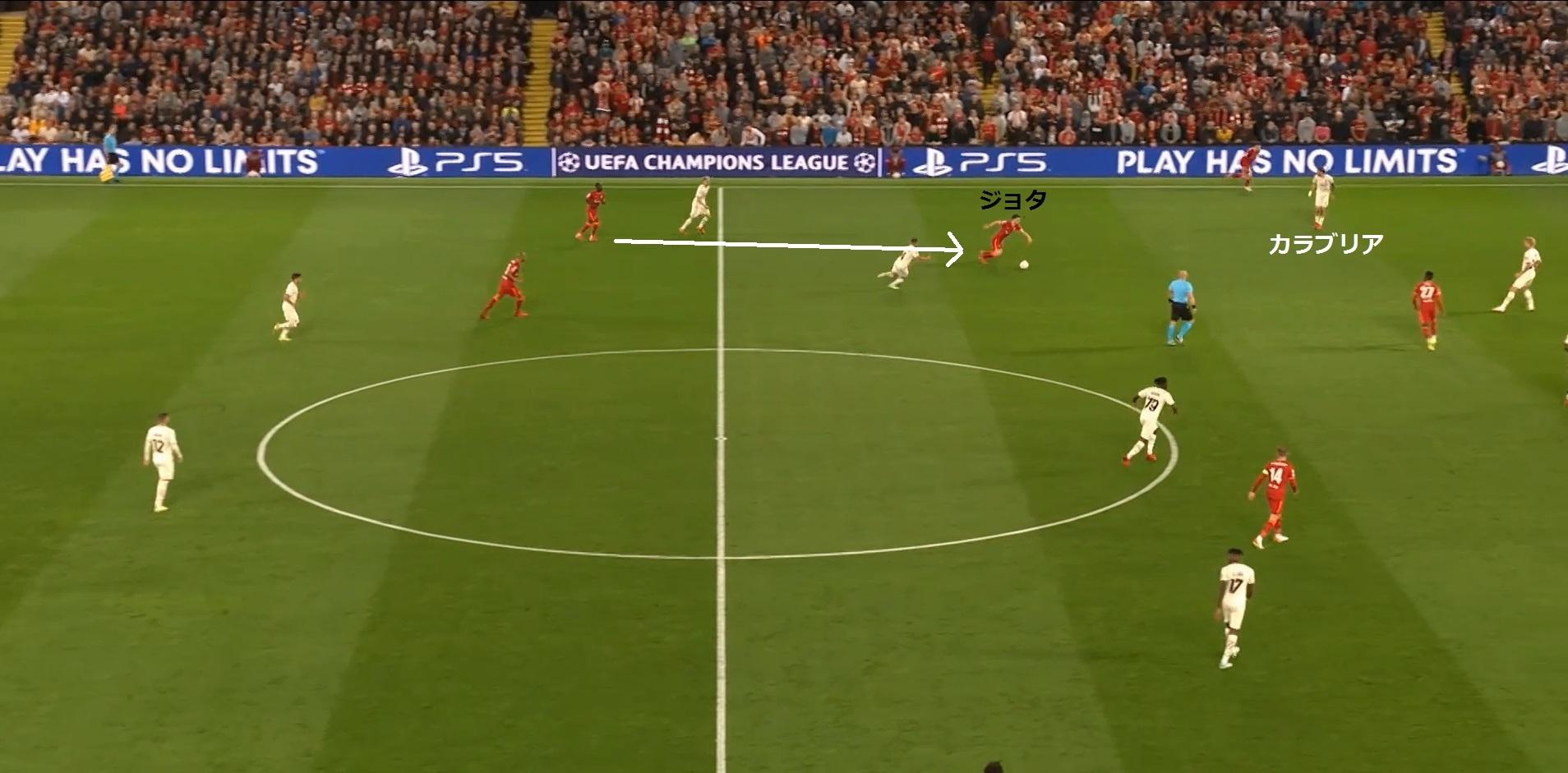 【21-22シーズン】リバプール対ミラン_戦術分析7
