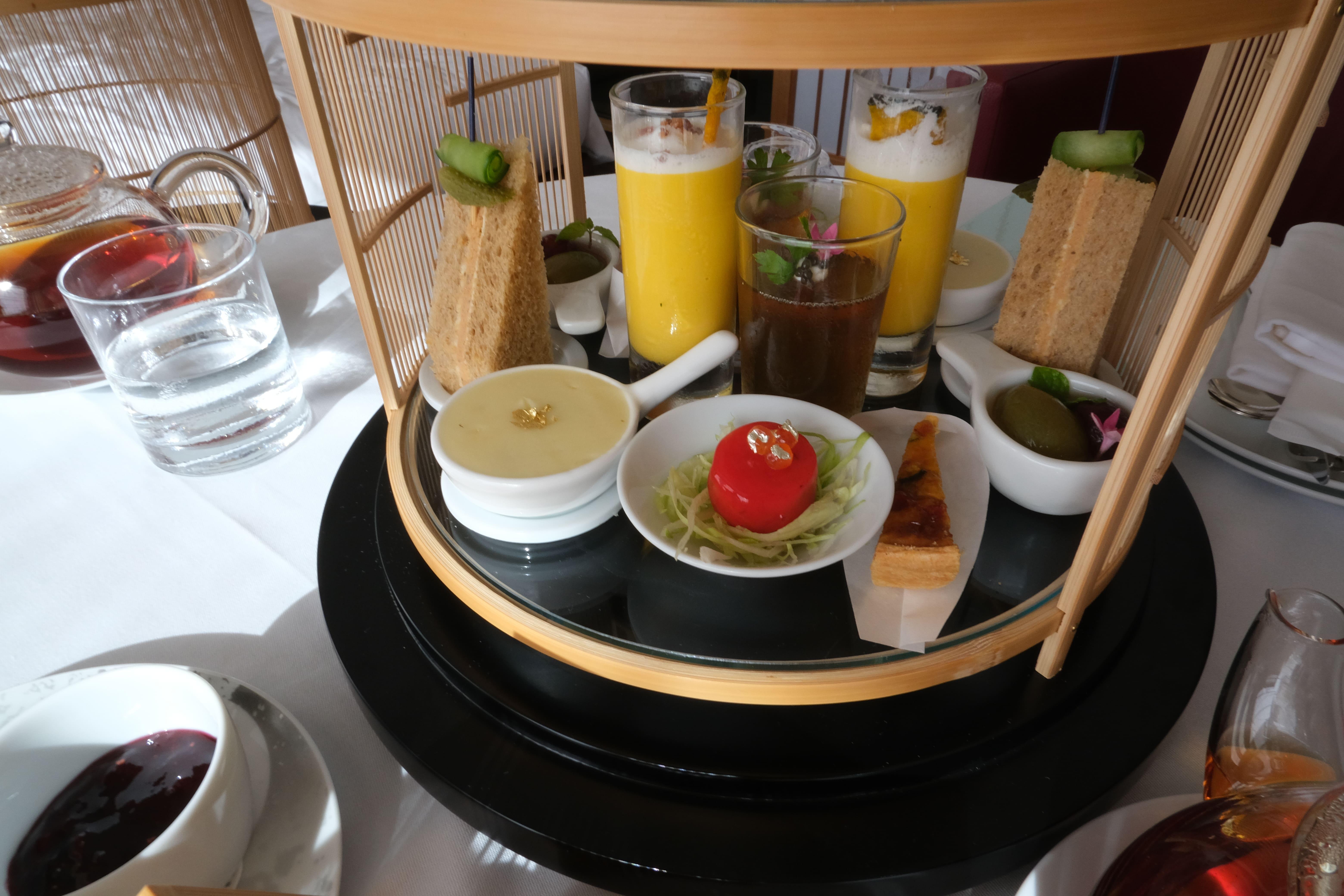 ザ・キャピタルホテル東急のアフタヌーンティーの食事