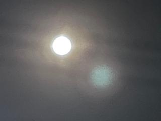 「満月」の前の日の夜の「ほぼ満月」w