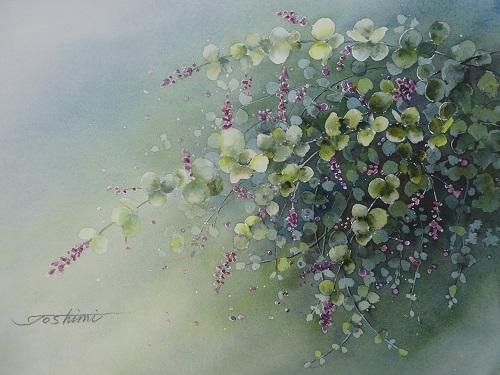 小さな花だけど季節を感じる萩の花