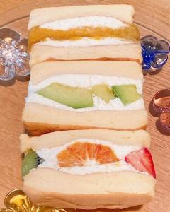 パンケーキ デ サンド メロン