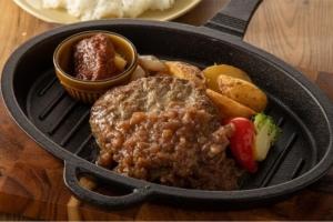 牛タンハンバーグ弁当 シャリアピンソース