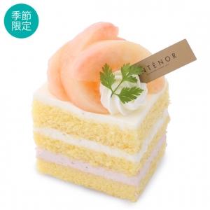 アンテノール 桃のショートケーキ