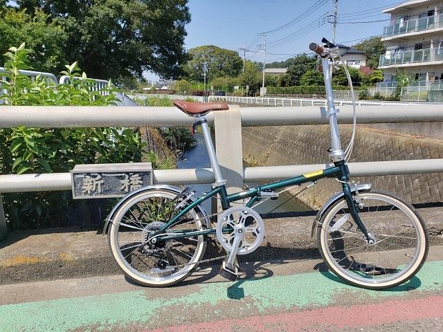 目久尻川の新橋とダホンボードウォークD7