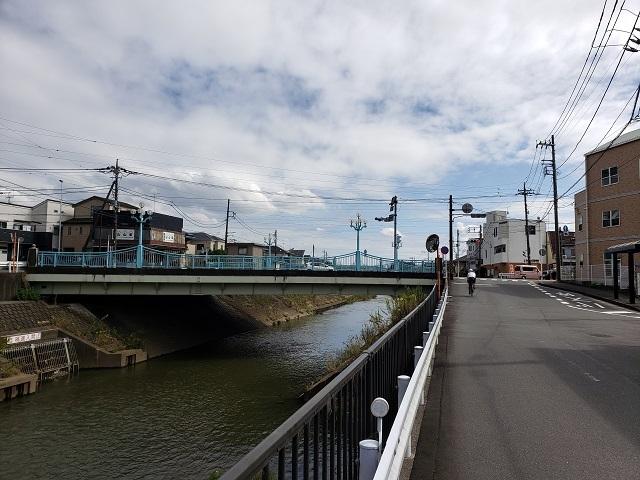 境川 新道大橋