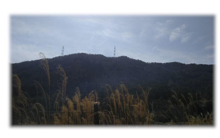7下山後,府道からの小和田山