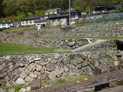 石垣と棚田