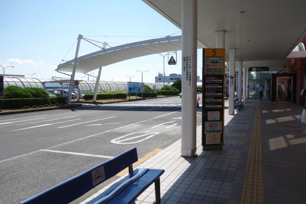 長崎空港バス停⑤.JPG