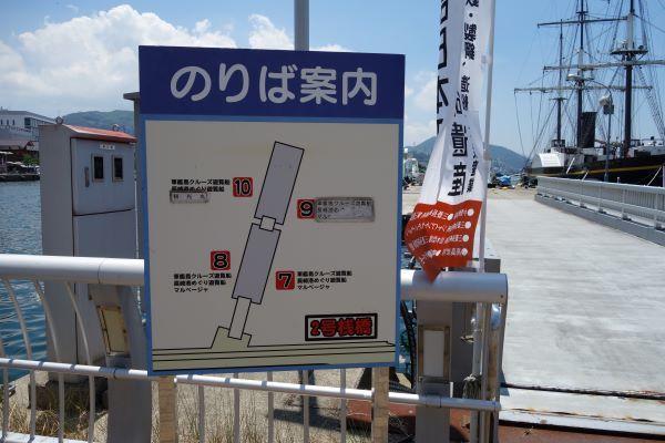 軍艦島クルーズ桟橋.JPG