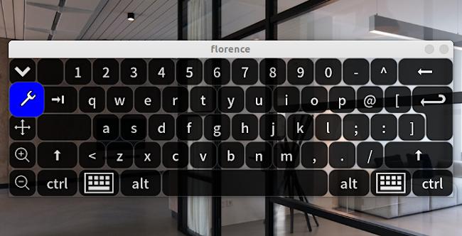 Florence Virtual Keyboard デフォルト