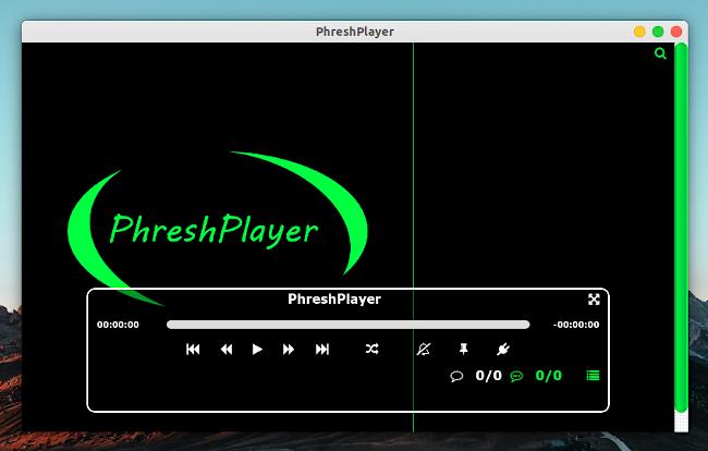 PhreshPlayer 動画プレイヤー