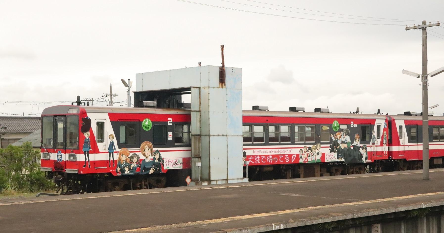 ガルパン列車