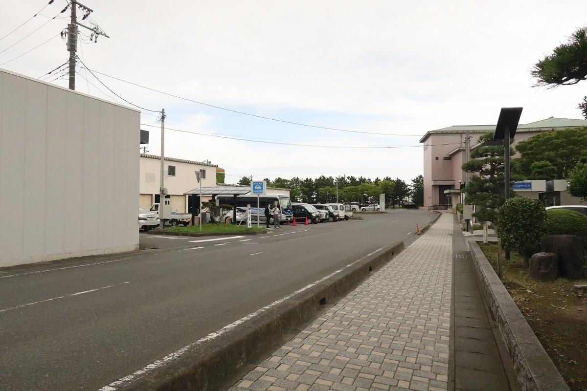 町役場から南側