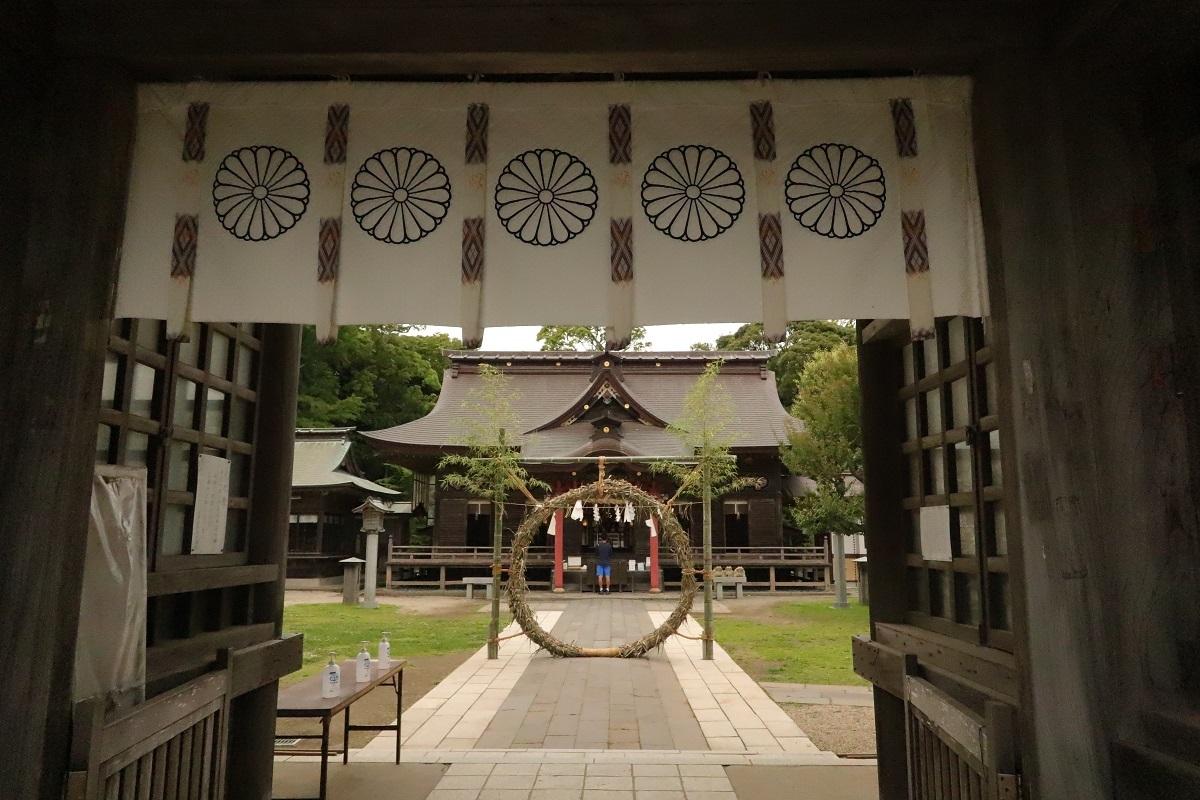 磯前神社門