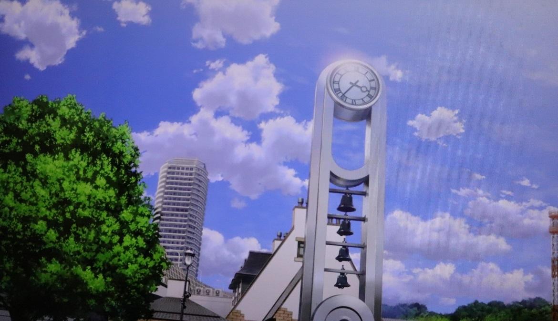 ヴェルニー公園時計塔