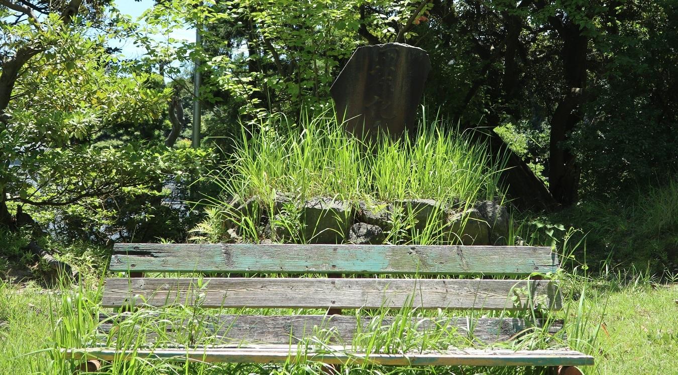 周防神社上の公園の実写