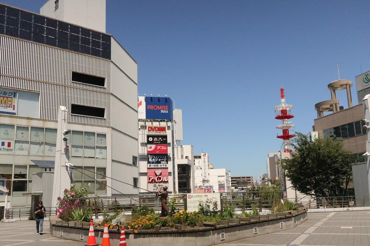 横須賀中央駅Yデッキ再び